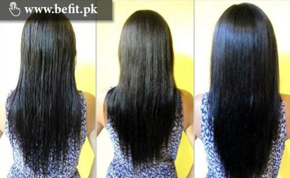 سیدھے بال