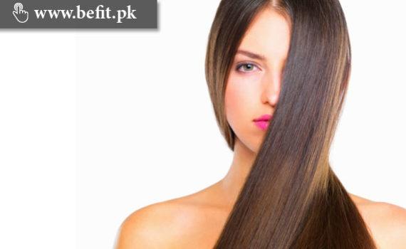 خوبصورت اور چمکدار بال