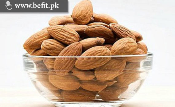treasure in almonds