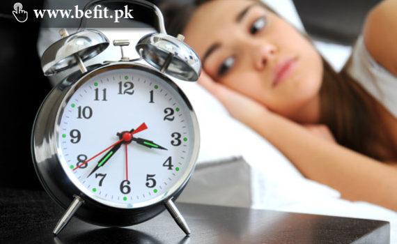 بے خوابی کی وجوہات کیا ہیں