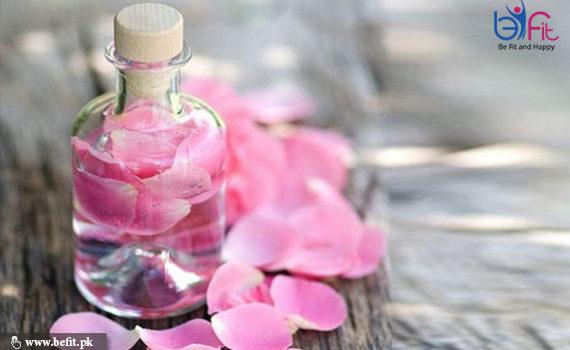 جلد کے لیے پانی فوائد گلاب
