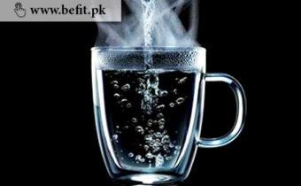 گرم پانی کے فوائد