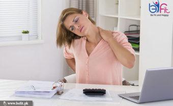 گردن کی درد
