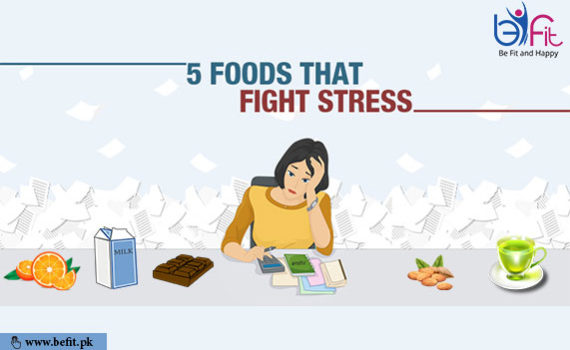 foods fight with stress